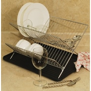 Cook Pro 2 Piece Folding Dish Rack Set