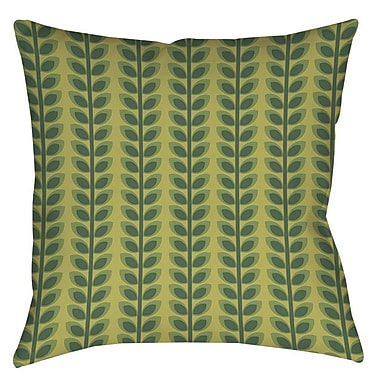 Manual Woodworkers & Weavers Tropical Breeze Patterns 39 Indoor/Outdoor Throw Pillow