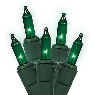 Vickerman 100 String Light Set; Green