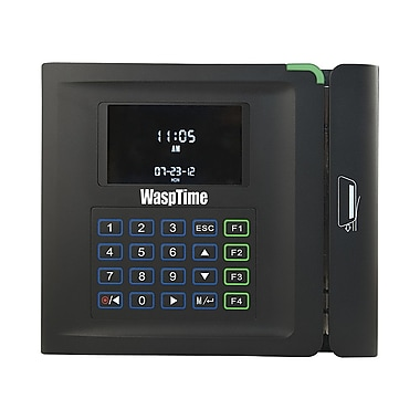 Wasp Bc100 Barcode Time Clock