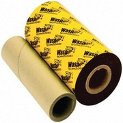 "Wasp Wax Ribbon For Wpl305/Wpl608 Barcode Printers, 4.33"" X 820'"
