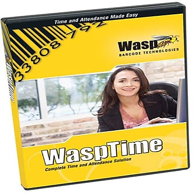 Wasp V5 Professional Software Only, 5 Admin/100 Employee Licenses