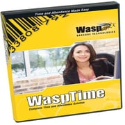 Wasp Time V7 Standard Software Only, 1 Admin/50 Employee Licenses