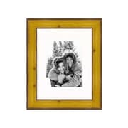 Frames By Mail 11'' x 14'' Rustic Pitted Pine Frame in Yellow