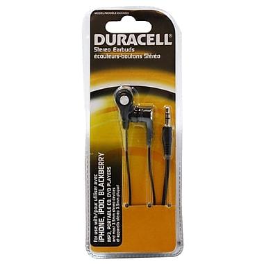Duracell® - Écouteurs stéréo pour tout téléphone cellulaire/intelligent