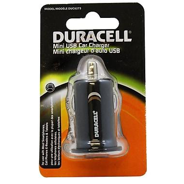 Duracell® - Câble de recharge de voiture 1 Amp Mini USB