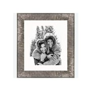 Frames By Mail 8'' x 10'' Crinkled Frame in Silver
