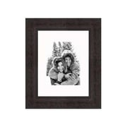 Frames By Mail 8'' x 10'' Traditional Frame in Antique Mahogany