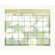 PTM Images Daisy Calendar/Planner Glass Dry Erase Board