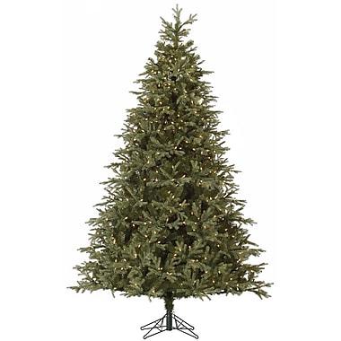 Vickerman Elk Frasier 7.5' Green Fir Artificial Christmas Tree w/ 700 Dura-Lit Clear Lights