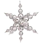 Vickerman Radical Snowflake Ornament; Silver