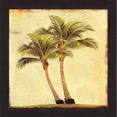 PTM Images Palms II Framed Graphic Art