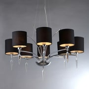 Warehouse of Tiffany Branch 8-Light Shaded Chandelier