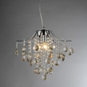 Warehouse of Tiffany Magna 3-Light Crystal Chandelier