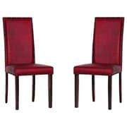 Warehouse of Tiffany Blaze Parsons Chair (Set of 8)