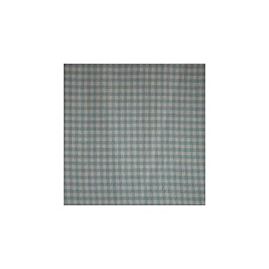 Patch Magic Blue Sky and White Gingham Checks Curtain Panels (Set of 2)
