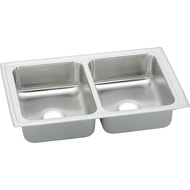 Elkay Gourmet 33'' x 19.5'' Pacemaker Kitchen Sink