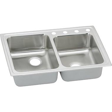 Elkay Gourmet 33'' x 22'' Kitchen Sink; 1 Hole