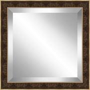 Ashton Wall D cor LLC Square Framed Beveled Plate Glass Mirror