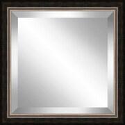 Ashton Wall D cor LLC Square  Antique Framed Bevel Plate Glass Mirror
