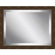 Ashton Wall D cor LLC Antique Framed Beveled Plate Glass Mirror