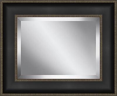 Ashton Wall D cor LLC Rectangle Framed Beveled Plate Glass Mirror