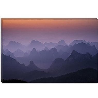 iCanvas ''Enchanted China'' by Dan Ballard Painting Print on Canvas; 18'' H x 26'' W x 0.75'' D