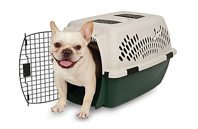 Ruff Maxx Plastic Dog Crate/Carrier; 26'' (26''
