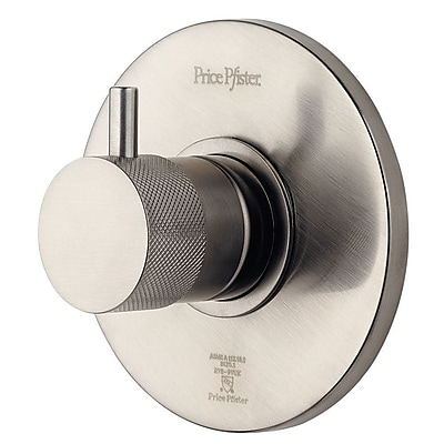 Pfister Volume Control Shower Faucet Trim Only; Brushed Nickel