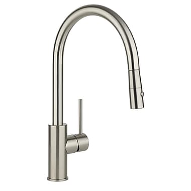 Elkay Harmony Single Handle Pull Down Kitchen Faucet; Chrome