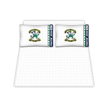 Sports Coverage NCAA Notre Dame Fighting Irish Sheet Set; Full