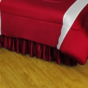 Sports Coverage NHL Colorado Avalanche Polyester Jersey Bed Skirt; Queen