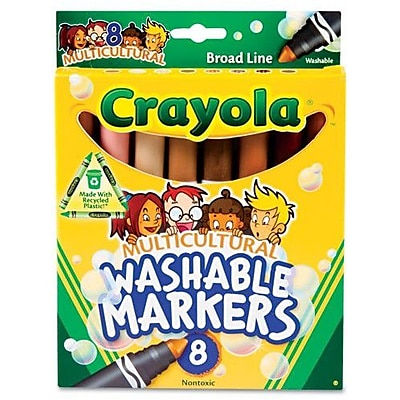 Crayola Washable Conical Point Marker (8/Pack)