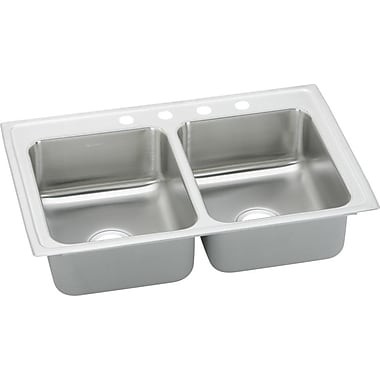 Elkay Gourmet 33'' x 21.25'' Kitchen Sink; 5 Holes