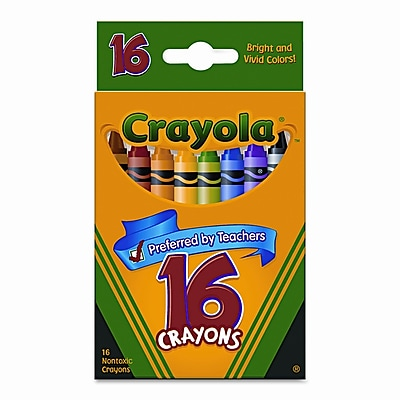 Crayola Classic Color Pack Crayons (16/Box) WYF078277513064