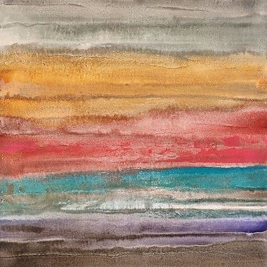 Portfolio Canvas New Horizons 1 by Michael Longo Painting Print on Wrapped Canvas