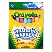Crayola Washable Conical Point Markers (8/Set