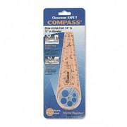 CLASSROOM SAFE-T Classroom Safe-T Products Plastic Compass