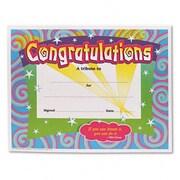 Trend Enterprises Congratulations Certificate