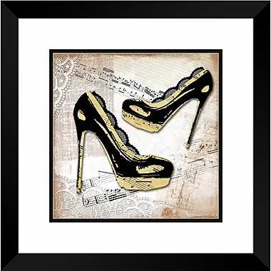 PTM Images Mini Couture III Framed Graphic Art