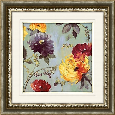 PTM Images Field Flowers I Framed Painting Print