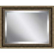 Ashton Wall D cor LLC Bead Framed Beveled Plate Glass Mirror