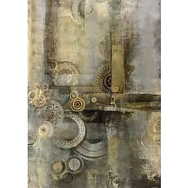 Portfolio Canvas Urban Time by Douglas Painting Print on Wrapped Canvas