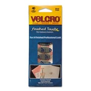 VELCRO USA, INC. Oval VELCRO  brand Fasteners, 7 1/4 X 3, 40/Pack