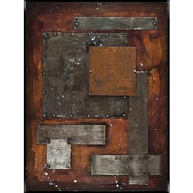PTM Images Metallic I Painting Print