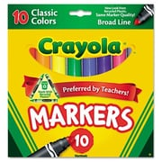 Crayola Non Washable Markers (10 Pack)