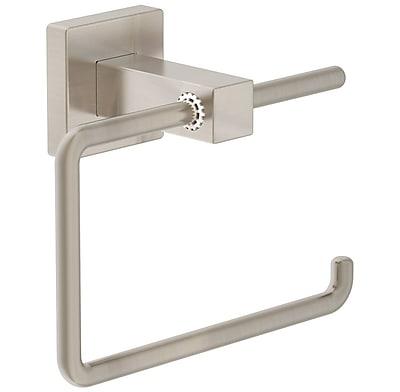 Symmons Duro Toilet Paper Holder; Satin Nickel