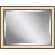 Ashton Wall D cor LLC Champagne Frame Beveled Plate Glass Mirror