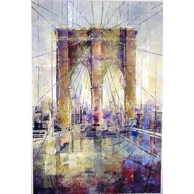Portfolio Canvas Manhattan Crossing I Painting Print on Wrapped Canvas