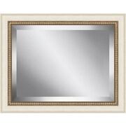 Ashton Wall D cor LLC Antique Bead Framed Beveled Plate Glass Mirror